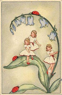 Lady bugs & polka-dot dresses