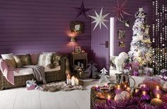 Fotos de Salas Decoradas en Navidad10