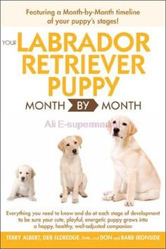Each chapter covers a month and includes sections on physical development, health, nutrition, grooming, social skills, behavior, training, and most important, just enjoying your new new Lab puppy. You'll learn about the important contribution the breeder makes to starting your pup out on the right paw, and how to continue the puppy's socialization and training once you bring him home. =