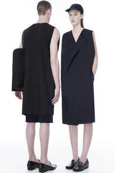 Rad by Rad Hourani Ready To Wear Spring Summer 2014 Paris - Live Fashion, Fashion Show, Fashion Design, Rad Hourani, Unisex Looks, Style Finder, Androgynous Fashion, Lookbook, Western Dresses