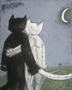 Amor I Love Cats, Crazy Cats, Cute Cats, Illustrator, Here Kitty Kitty, Cat Drawing, Aesthetic Art, Cats And Kittens, Cat Lovers