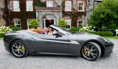 Slate Grey Lamborghini convertible wedding car with a difference! Wedding Car, Wedding Gifts, Our Wedding, Wedding Venues, Wedding Photos, Lamborghini Convertible, Wedding Transportation, Gray Weddings, Got Married