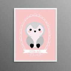 pink and gray nurser
