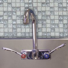 A-Line by Advance Tabco Splash Mounted Utility Sink Faucet