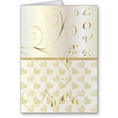 Personalize Love (Marriage) Card. www.zazzle.com/designsbydonnasiggy* #marriage #wedding #zazzle