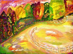 daniel scharf impressionist painter, art, landscape