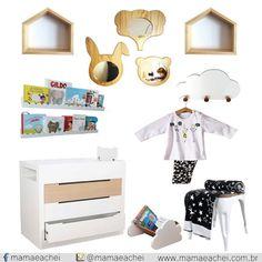 No nosso Shopping Virtual você encontra desde os profissionais para decorar o quartinho dos seus filhos, até essas fofurices que estão neste post.  COMPRE AGORA:http://bit.ly/29gUszy
