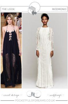 BRIDAL INSPIRATION BOARD #82 ~ Modern, Minimalist Monochrome Wedding Inspiration | Love My Dress® UK Wedding Blog