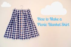 Tilly and the Buttons: How to Make a Picnic Blanket Skirt: Part 1