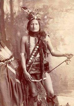 Man Who LovesHorses, Ogallala Sioux.