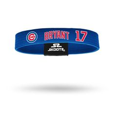 Chicago Cubs Kris Bryant Wristband