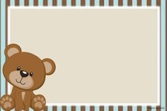 invitations for free baby shower - Search with . Baby Shower Oso, Teddy Bear Baby Shower, Imprimibles Baby Shower, Baby Shower Invitaciones, Decoracion Baby Shower Niña, Scrapbook Bebe, Diaper Cake Boy, Bear Theme, Baby Shawer