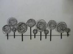 wire art wall - Cerca con Google
