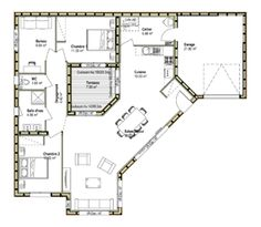 plan de maison originale gratuit
