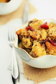 Sausage-Cranberry Stuffing