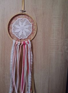 Crochet dreamcatcher - pinned by pin4etsy.com