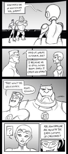 GLTAS Christmas comic Razer and Aya Pg 2