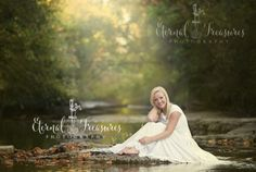 senior photographer murfreesboro tn dancer in creek senior images
