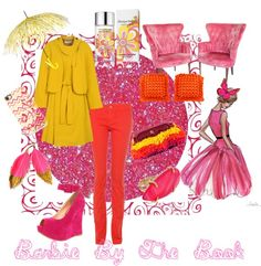 """Barbie By The Book"" by rhinestonesandrouge on Polyvore"