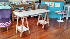 escritorio caballetes medida a elección