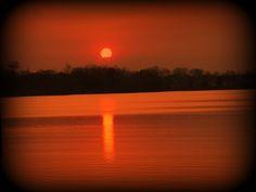 orange of sunset