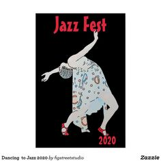 Shop Dancing to Jazz 2020 Poster created by figstreetstudio. Drawing Tutorials For Beginners, Jazz Music, Easy Drawings, Art Sketches, Invitation Cards, Art For Kids, Art Pieces, Playing Cards, Dance