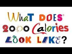What 2,000 calories actually looks like? Discover more in this video - http://www.finedininglovers.com/blog/food-drinks/how-much-is-2000-calories/