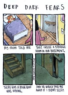 A story submitted by Stephanie -. Short Creepy Stories, Funny Stories, Dark Humour Memes, Dark Memes, Fear Book, Deep Dark Fears, Image Triste, Funny Charts, Dark Comics