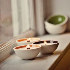 Looks cute, and guess it'd feel nice too :)    Natural soy candle with wooden wick ORCHARD comice by Luminology, $44.00