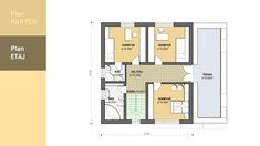 Model 138mp | Case de top Exterior Design, Interior And Exterior, Design Case, House Plans, Floor Plans, How To Plan, House Styles, Model, Top