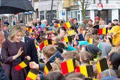 La reine Mathilde de Begique à Turnhout, le 25 février 2016