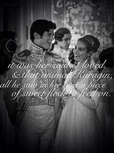 War and Peace - Prince Andrei & Natasha #quotes #soul #bbc