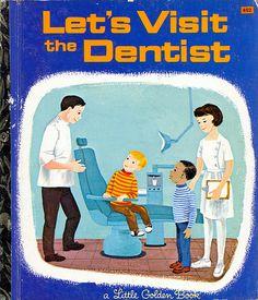 Let's Visit The Dentist - Little Golden Book