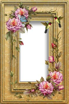 floral frame by collect-and-creat on DeviantArt 2 Clipart, Frame Clipart, Floral Vintage, Vintage Paper, Xmas Frames, Boarders And Frames, Printable Frames, Birthday Frames, Frame Background