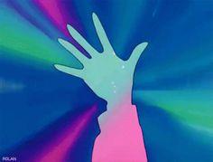 Sailor Moon Transformation- Moon Prism Power makeup gif                                                                                                                                                      More
