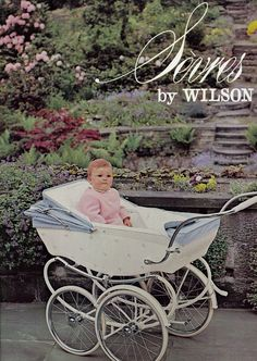 What a beautiful setting for this lovely photo of the Sevres baby carriage. Produced as part of our 1962 collection, it was decorated with delicate sprays of hand-painted flowers.