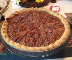 This pecan pie is gluten-free, paleo and delicious.