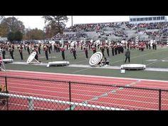 Crimson Marching Band - Semi-State #vertigo - YouTube