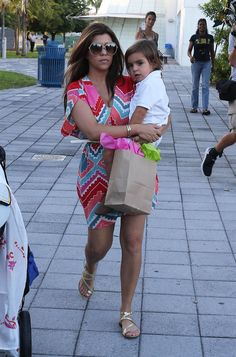 Kim And Kourtney Kardashian Take Mason To The Miami Children's Museum