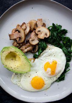 Vegetarian Breakfast, Healthy Breakfast Recipes, Healthy Snacks, Healthy Eating, Healthy Recipes, Protein Breakfast, Diet Breakfast, Breakfast Bars, Healthy Fruits