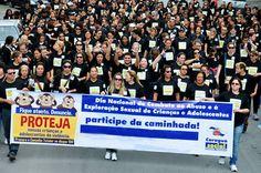 Caraguá comemora Dia Nacional de Combate ao Abuso e à Exploração de Crianças e Adolescentes
