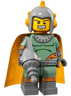 LEGO minifigure series 17 - 71018 - Retro Spaceman