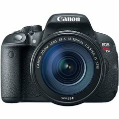 $999.00 List Price-Canon Rebel T5i Digital SLR Camera and 18-135mm EF-S IS STM Lens Kit. Capture the excitement of the Holidays....