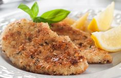 Oven Fried Parmesan Chicken via @SparkPeople