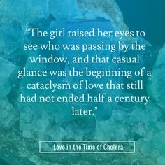 Love quotes from the movie Love in the Time of Cholera