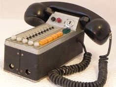 1970's Siemens car phone  Repinned by www.silver-and-grey.com