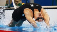 Swimmer Kylie Masse wins Canada's medal in Rio Rio Olympics 2016, Summer Olympics, Olympic Sports, Olympic Games, Swimming Photos, Olympic Swimming, Competitive Swimming, Tokyo 2020, Keep Swimming