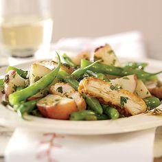 Fast  Easy Dinner: Chicken Salad Piccata