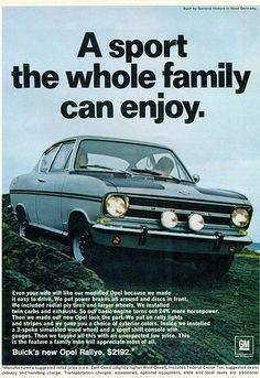 1967 Opel Kadette Rallye