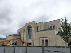 Paris France LDS (Mormon) Temple Construction Photographs